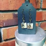 Image of Square Shell Earrings