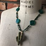 Image of Way Out West Cactus Necklace