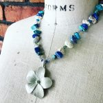 Image of Tropical Dogwood Necklace