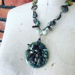 Image of The Mint Stonefish Necklace