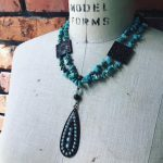 Image of Turquoise Temple Dream Necklace