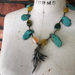 Image of Tropical Bird of Paradise Necklace