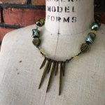 "Image of ""Spikey"" Handmade Necklace"