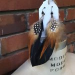 Image of Super Groovy Feather Earrings