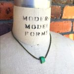 Image of Rock On Kids Green Necklace